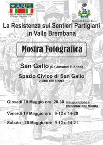 Mostra sulla Resistenza in Valle Brembana